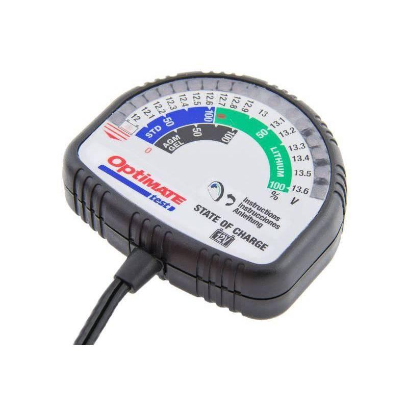 Comprobador baterías Optimate Test TS126