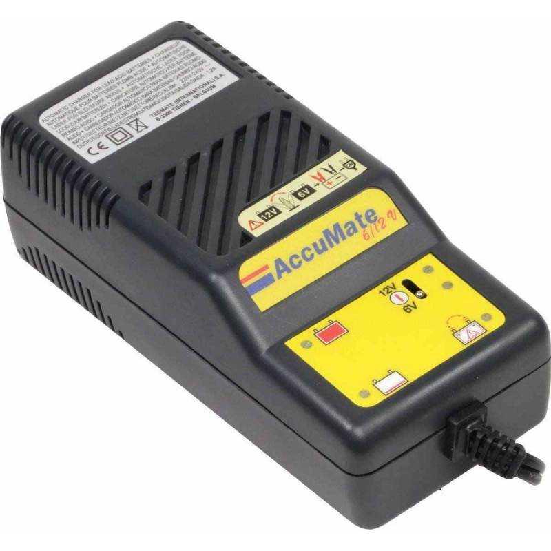 Cargador baterías Accumate 6/12