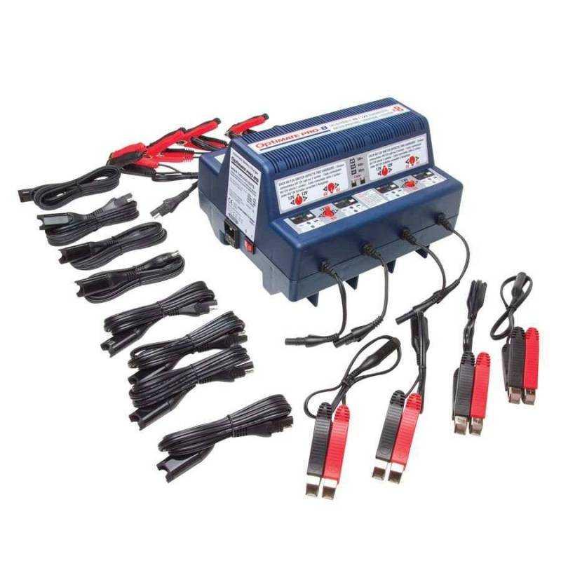 Cargador baterías Optimate PRO-8