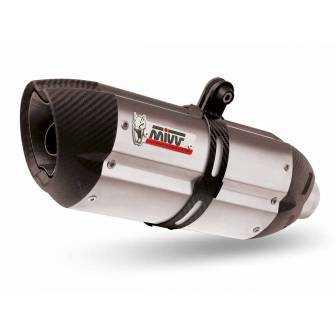 MIVV Honda Cb-Cbr 500 F / X 13-15 Suono Inox Copa Carbono H.051.L7
