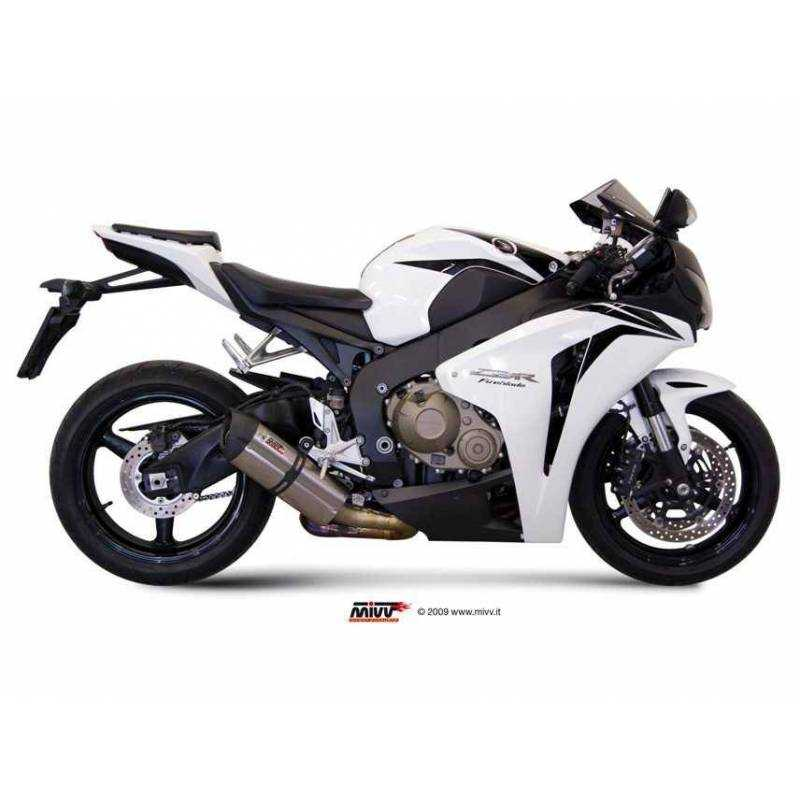 MIVV Honda Cbr 1000 Rr 08-13 Suono Full Titanium Copa Carbon R.Ho.0002.S8