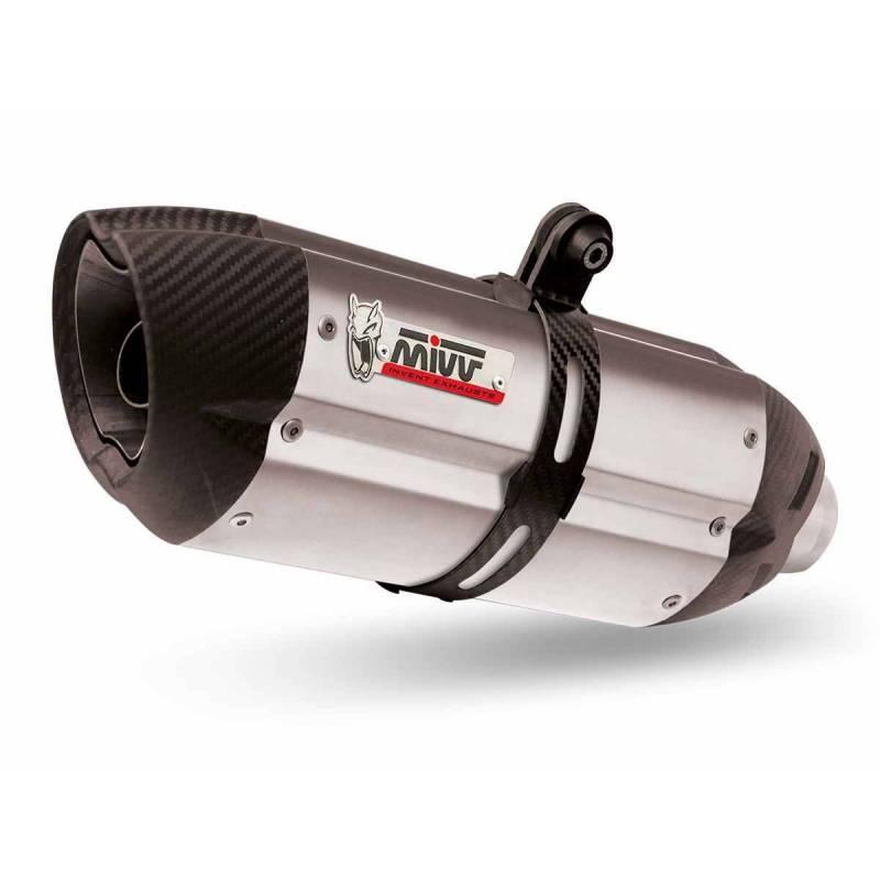 MIVV Honda Cbr 600 F 01-10 Suono Inox Copa Carbono H.013.L7