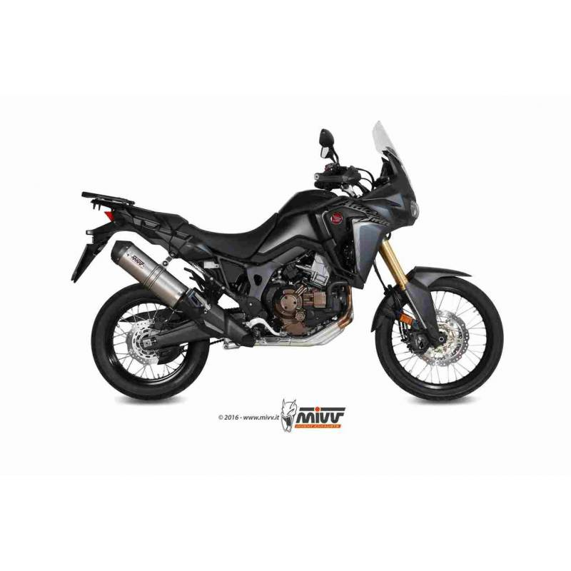 MIVV Honda Crf 1000 L Africa Twin 16- Oval Titanio Copa Carbono H.059.Lnc