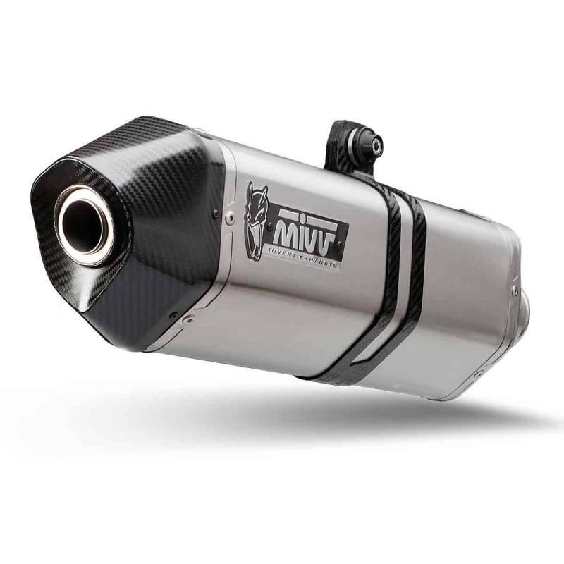 MIVV Honda Crossrunner 15- Speed Edge Inox Copa Carbono H.058.Lrx