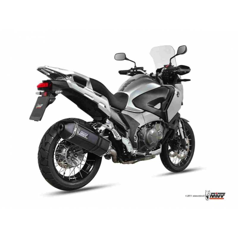MIVV Honda Crosstourer 12- Speed Edge Steel Black H.045.Lrb