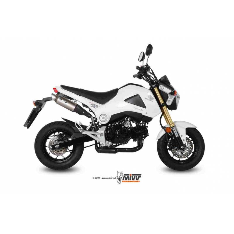 MIVV Honda Grom-Msx 125 13- Gp Inox H.056.Lxs