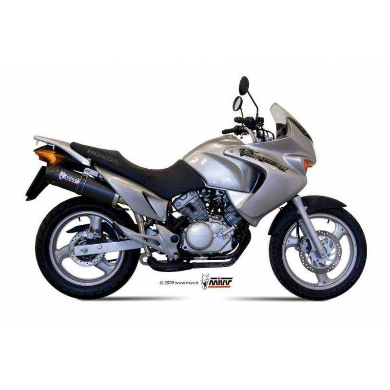 MIVV Honda Xl 125 Varadero 07- Oval Carbono Copa Carbono H.044.L3c