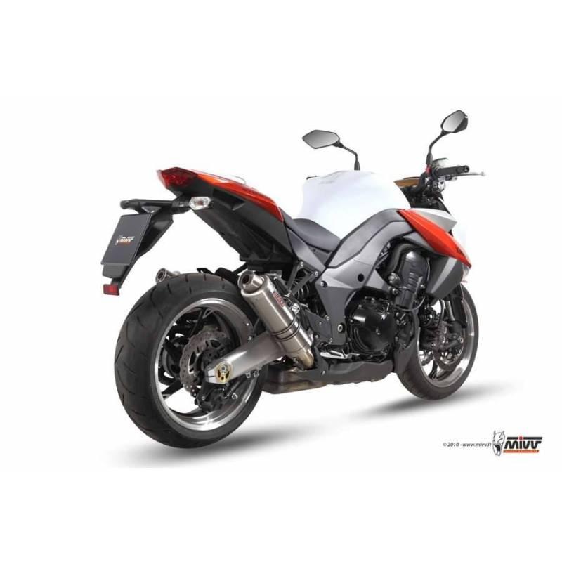 MIVV Kawasaki Z 1000 10-13 Gp Titanio K.025.L6s