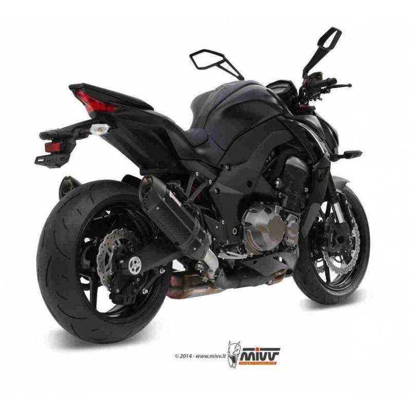 MIVV Kawasaki Z 1000 14- Suono Steel Black K.039.L9