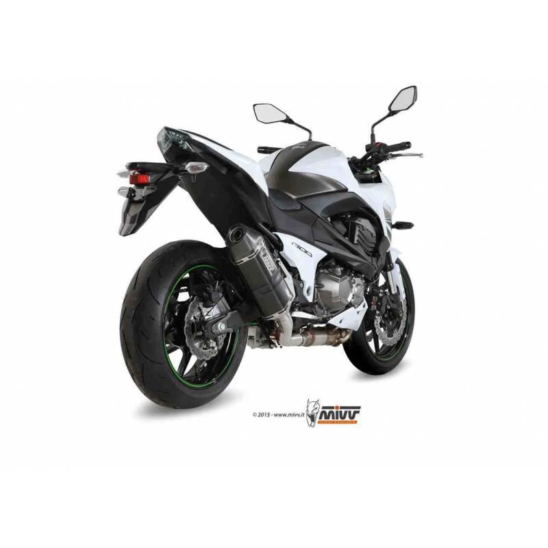 MIVV Kawasaki Z 800 13- Speed Edge Steel Black K.032.Lrb