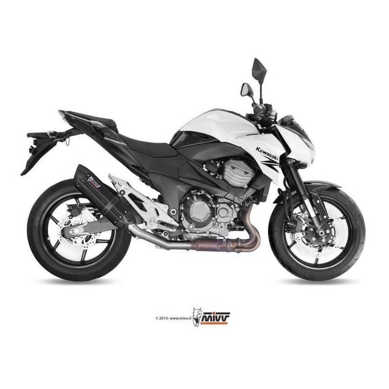 MIVV Kawasaki Z 800 E 13- Suono Steel Black K.035.L9