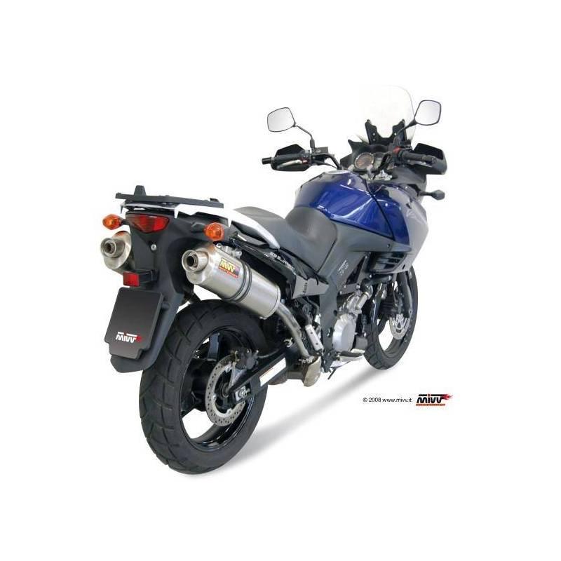 MIVV Suzuki Dl V-Strom 1000 02-13 Oval Titanio S.033.Ln