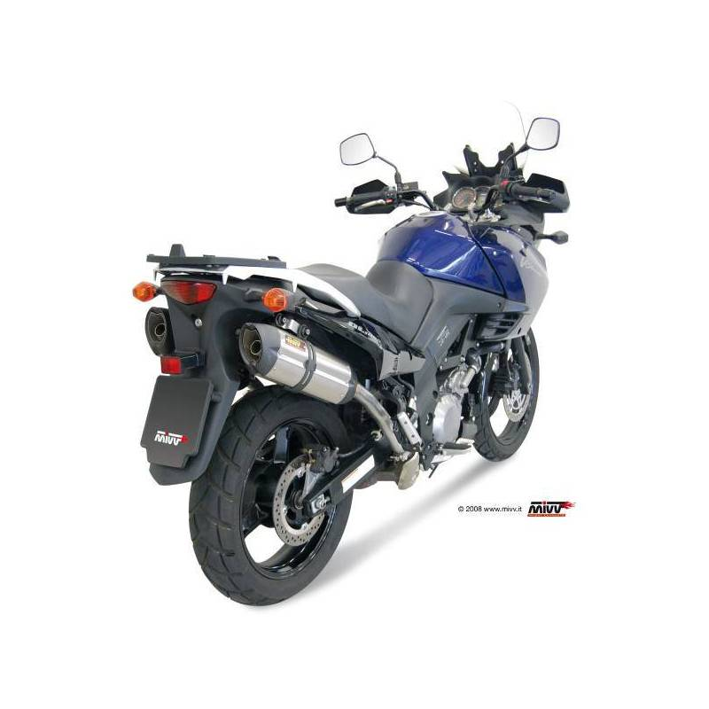 MIVV Suzuki Dl V-Strom 1000 02-13 Suono Inox S.033.L7