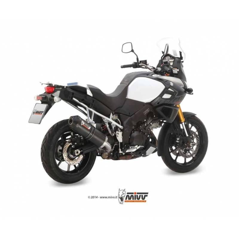 MIVV Suzuki Dl V-Strom 1000 14- Oval Carbono S.042.Lec