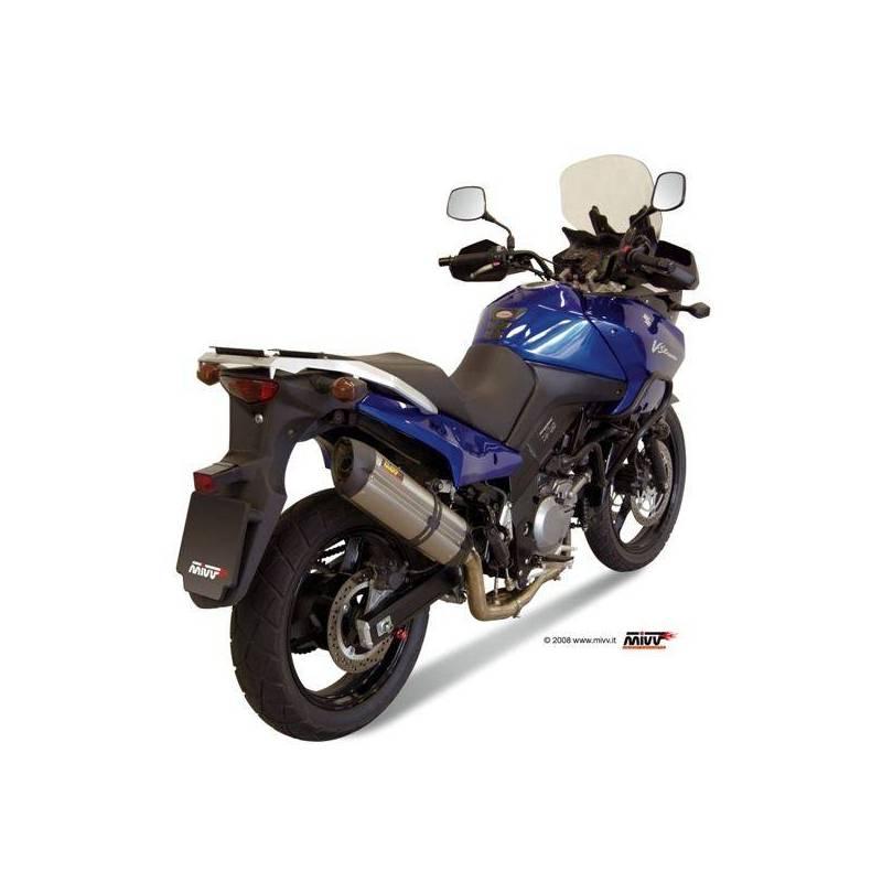 MIVV Suzuki Dl V-Strom 650 07-11 Suono Inox S.027.L7