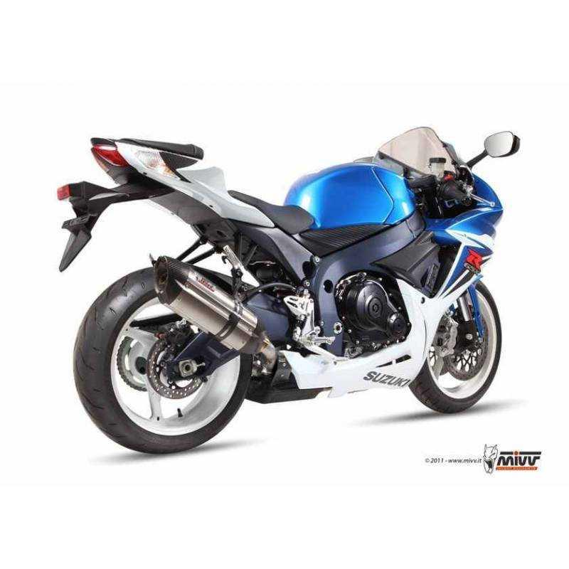 MIVV Suzuki Gsx-R 600-750 11- Suono Inox S.036.L7