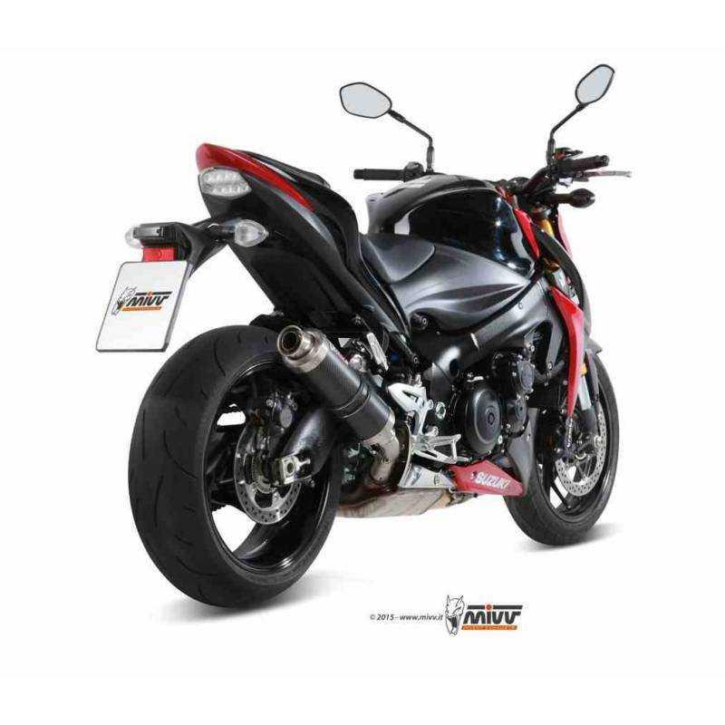 MIVV Suzuki Gsx-S 1000 15- Gp Carbono S.044.L2s