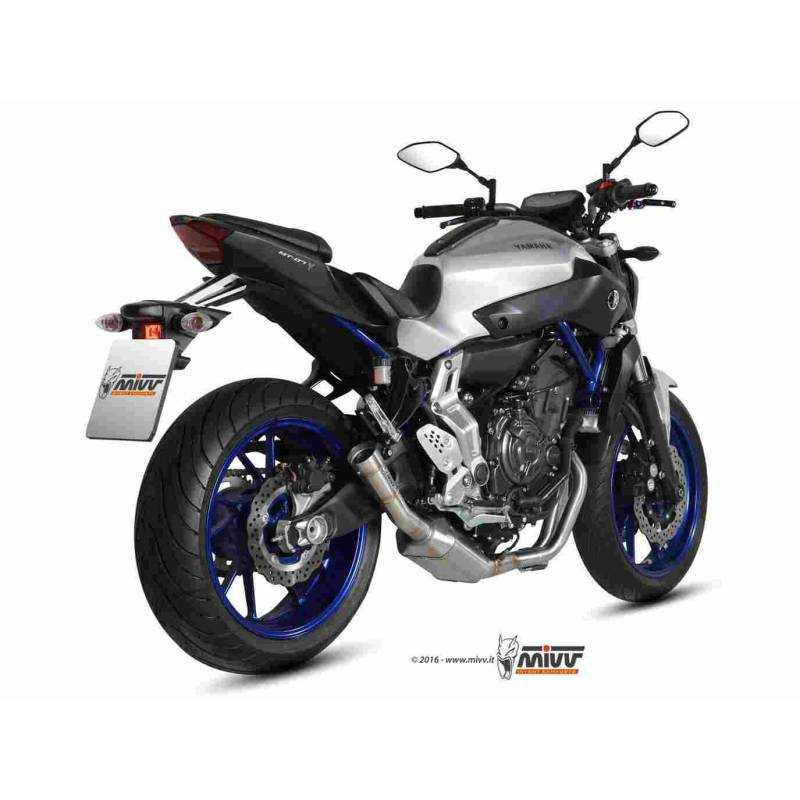 MIVV Yamaha Mt-07 14- Speed Edge Inox Y.046.Lhx