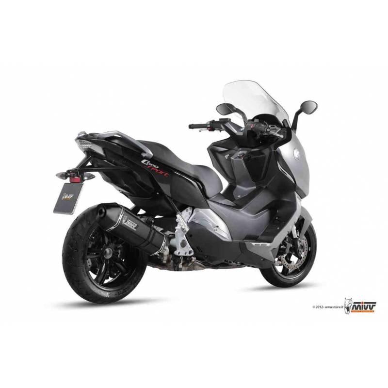 MIVV Bmw C 600 / C 650 Sport 2012-2015 Speed Edge Steel Black B.013.Lrb