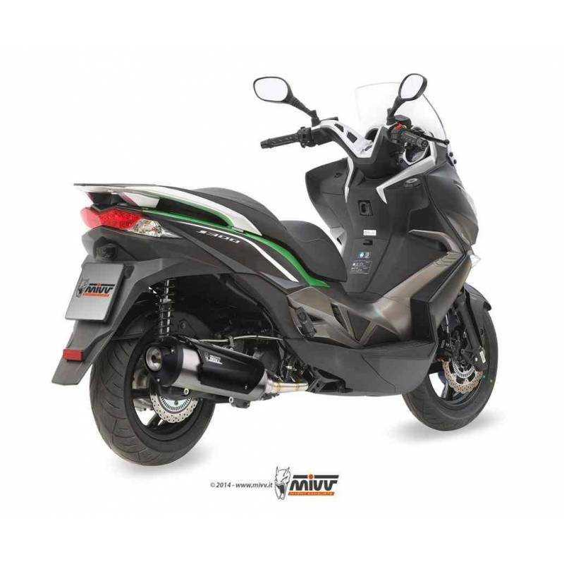 MIVV Kawasaki J300 14- Inox C.Ky.0016.K