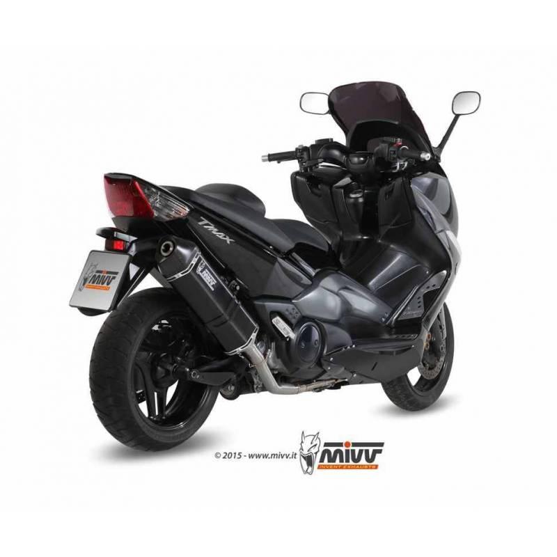 MIVV Yamaha T-Max 500 08-11 Speed Edge Steel Black Y.035.Lrb
