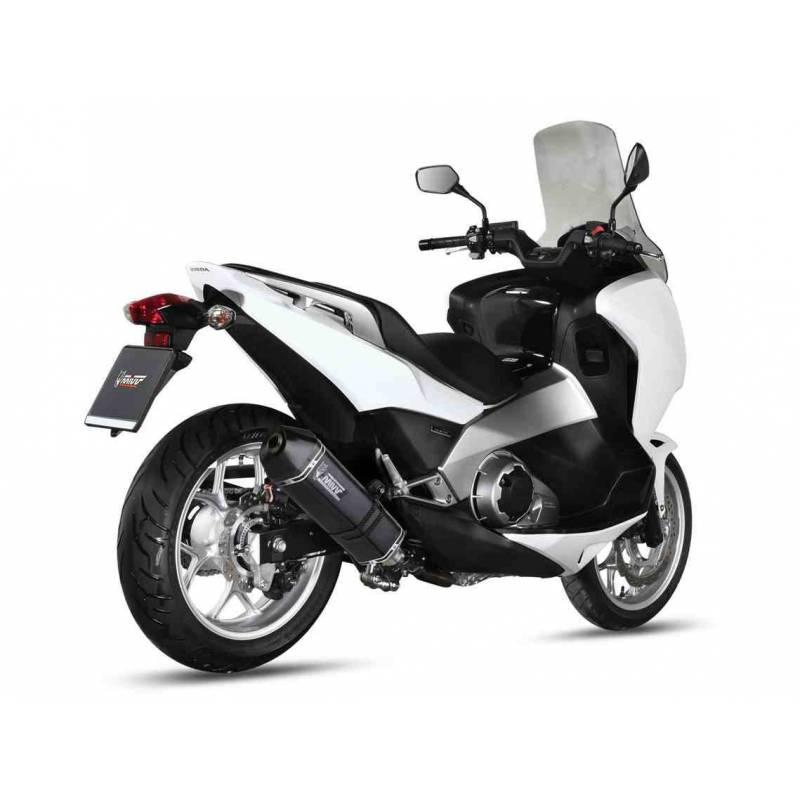 MIVV Honda Integra / Nc 700 12- / 750 14- Speed Edge Steel Black H.046.Lrb