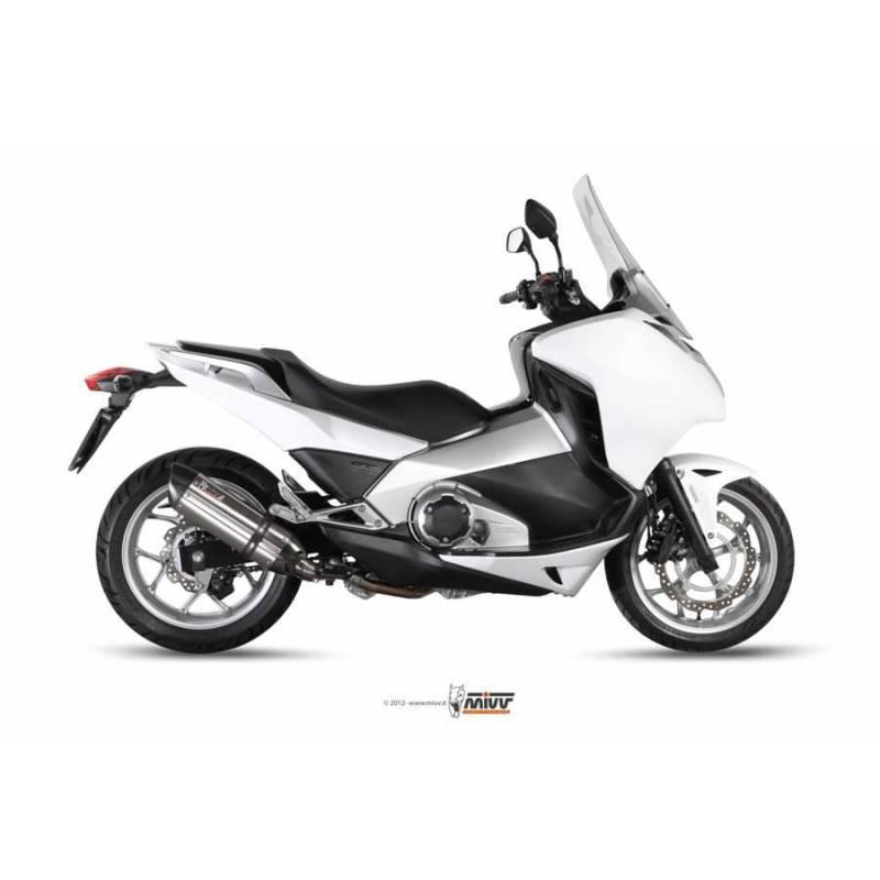 MIVV Honda Integra / Nc 700 12- / 750 14- Suono Inox Copa Carbono H.046.L7