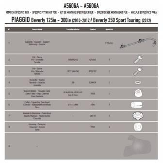 Kit Anclajes Givi Especifico Para 5606a