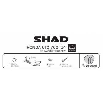 Fijacion respaldo SHAD HONDA CTX 700-N (14-17)