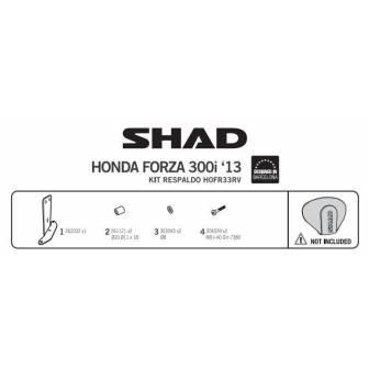 Fijacion respaldo SHAD HONDA FORZA 300 (13-17)