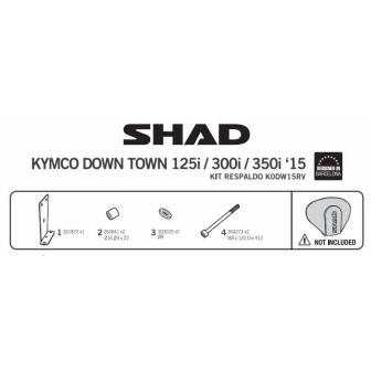 Fijacion respaldo SHAD KYMCO SUPER DINK 125-350 (16-17)