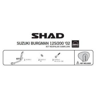 Fijacion respaldo SHAD SUZUKI BURGMAN 125/150 (02-06)