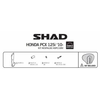 Fijacion respaldo SHAD HONDA PCX 125 (10-17)