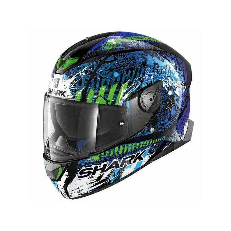 Casco Shark Skwal 2 - Switch Riders 2 azul