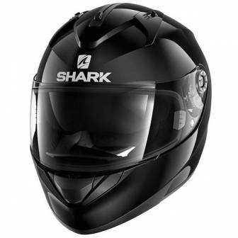 Casco Shark Ridill - Blank negro
