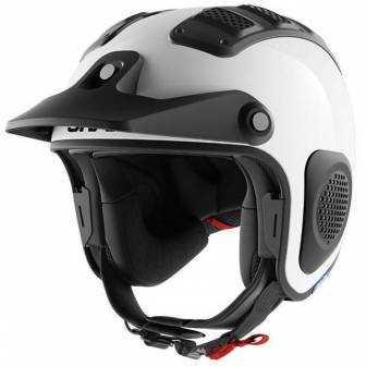 Casco Shark ATV-Drak - Blank blanco