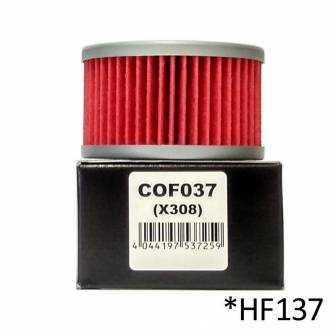 Filtro de aceite Champion COF037 (HF137)