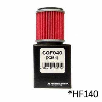 Filtro de aceite Champion COF040 (HF140)