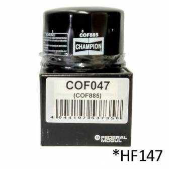 Filtro de aceite Champion COF047 (HF147)