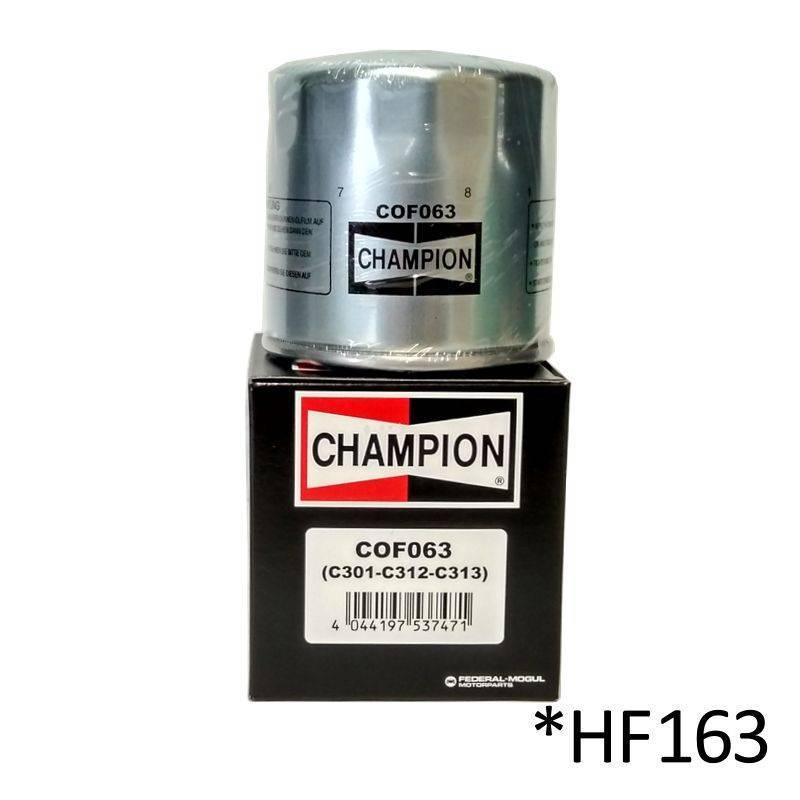 Filtro de aceite Champion COF063 (HF163)
