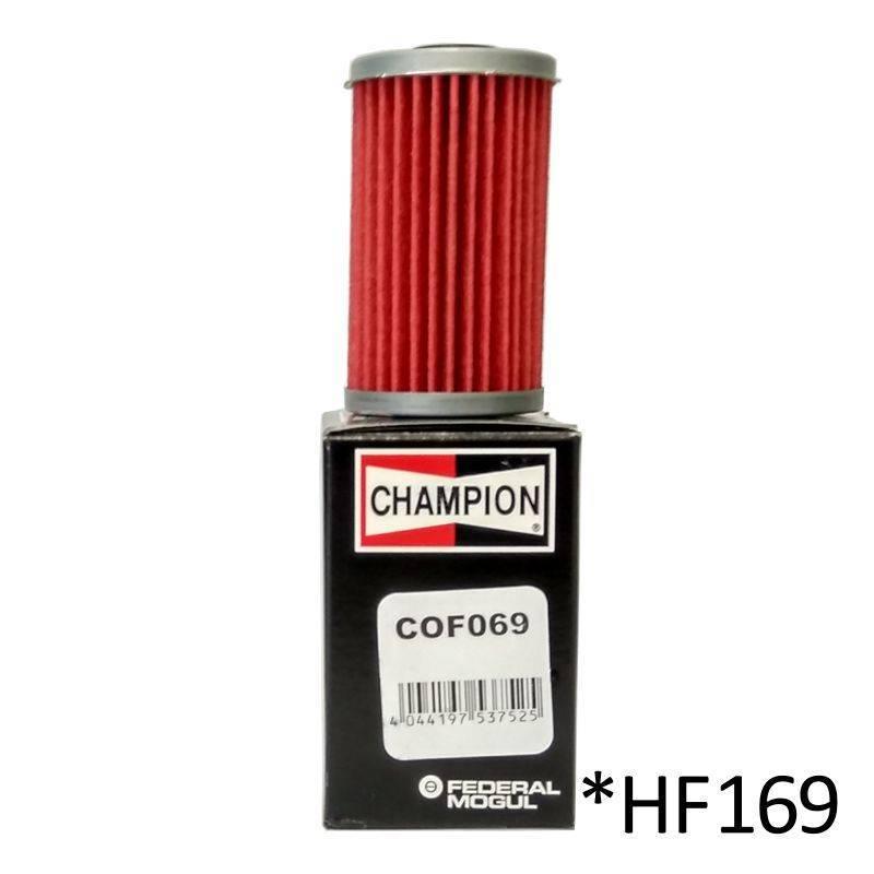 Filtro de aceite Champion COF069 (HF169)