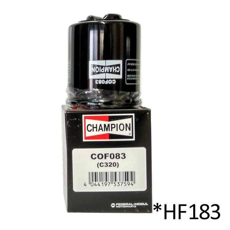 Filtro de aceite Champion COF083 (HF183)
