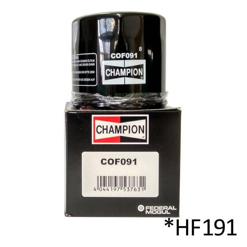 Filtro de aceite Champion COF091 (HF191)