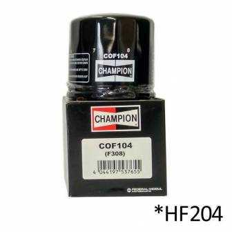Filtro de aceite Champion COF104 (HF204)