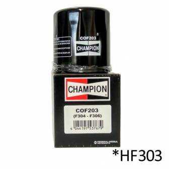 Filtro de aceite Champion COF203 (HF303)