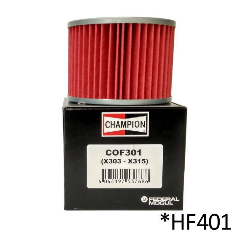 Filtro de aceite Champion COF301 (HF401)