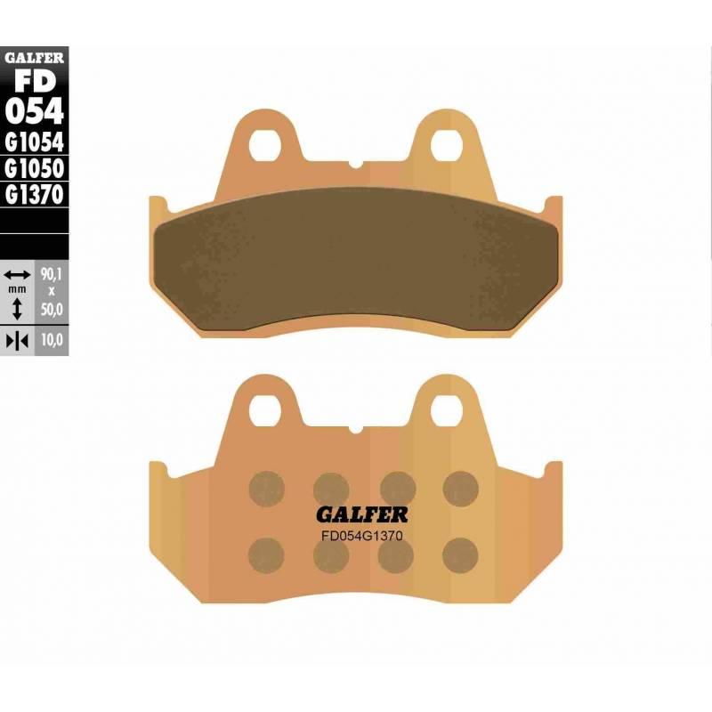 PASTILLAS FRENO GALFER FD054-G1370 MOTO (sinterizado)