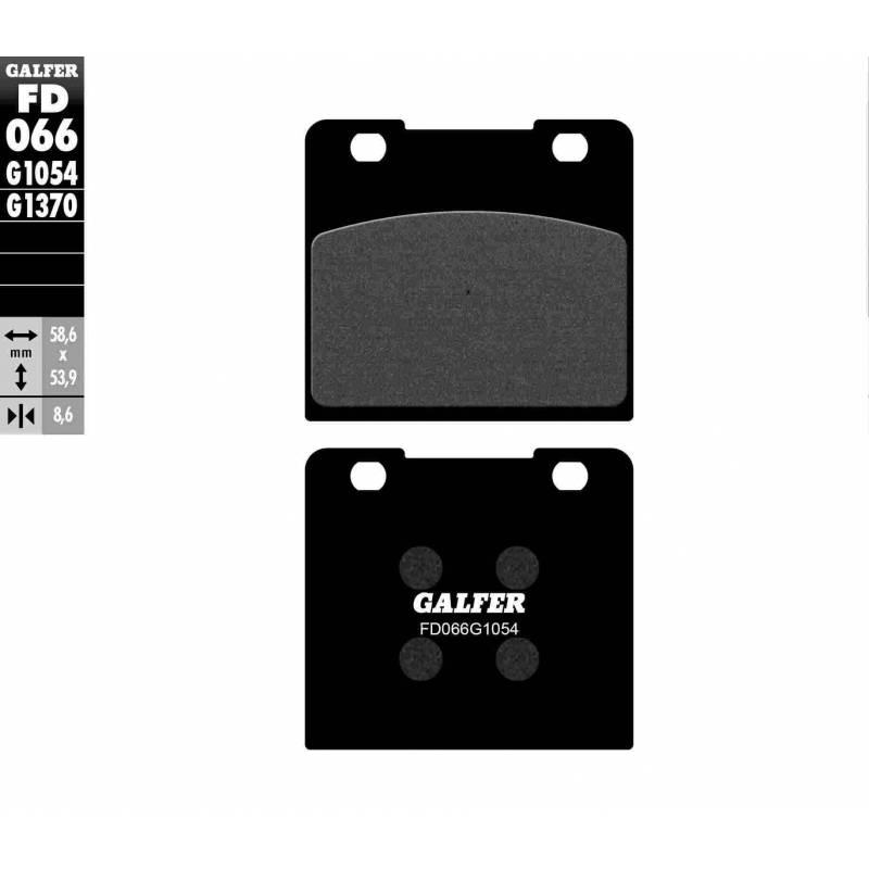 PASTILLAS FRENO GALFER FD066-G1054 (semi-metálicas)