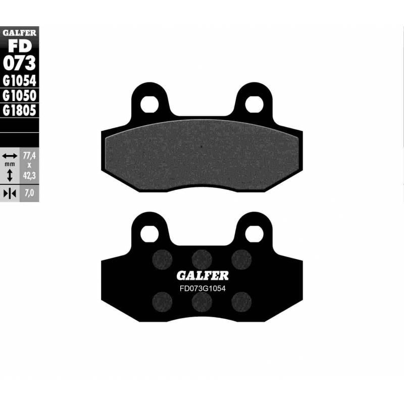 PASTILLAS FRENO GALFER FD073-G1054 (semi-metálicas)