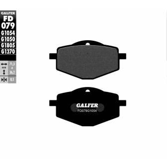PASTILLAS FRENO GALFER FD079-G1054 (semi-metálicas)
